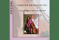 Lowri Blake, Peter Buckoke - A Man,A Woman & A Double Bass [CD]