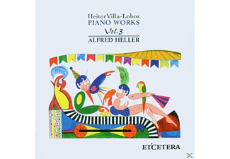 Alfred Heller - Piano Works Vol.3 - (CD)