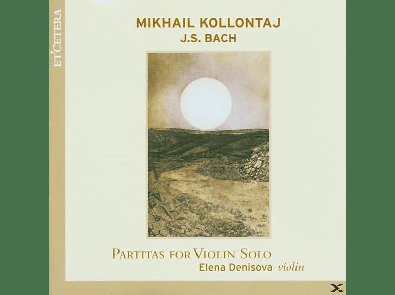 Elena Denisova - Partitas For Violin Solo [CD]