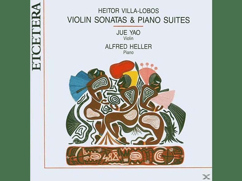 Jue Yao, Alfred Heller - Violin Sonatas & Piano Suites [CD]