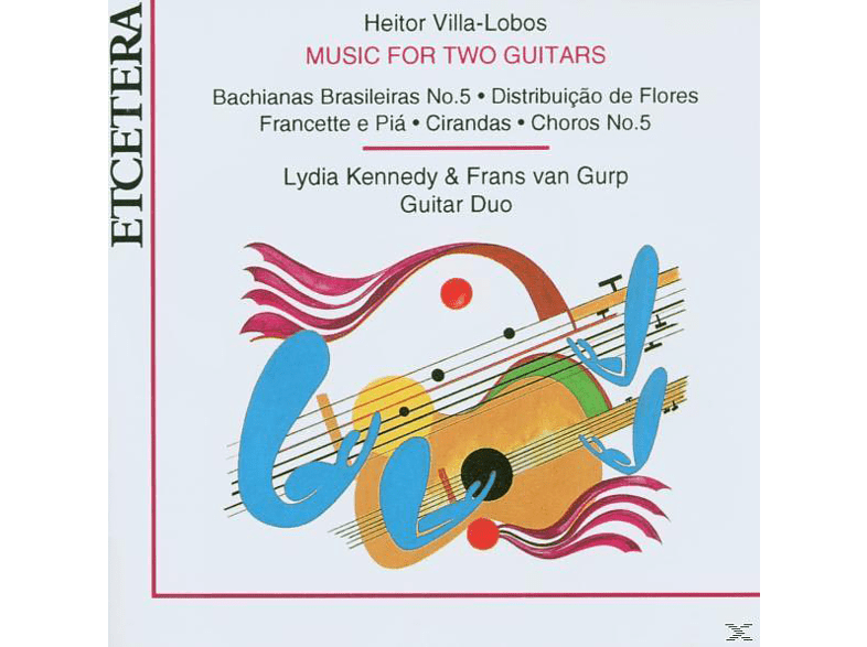 Lydia Kennedy, Frans Van Gurp - Music For Two Guitars [CD]