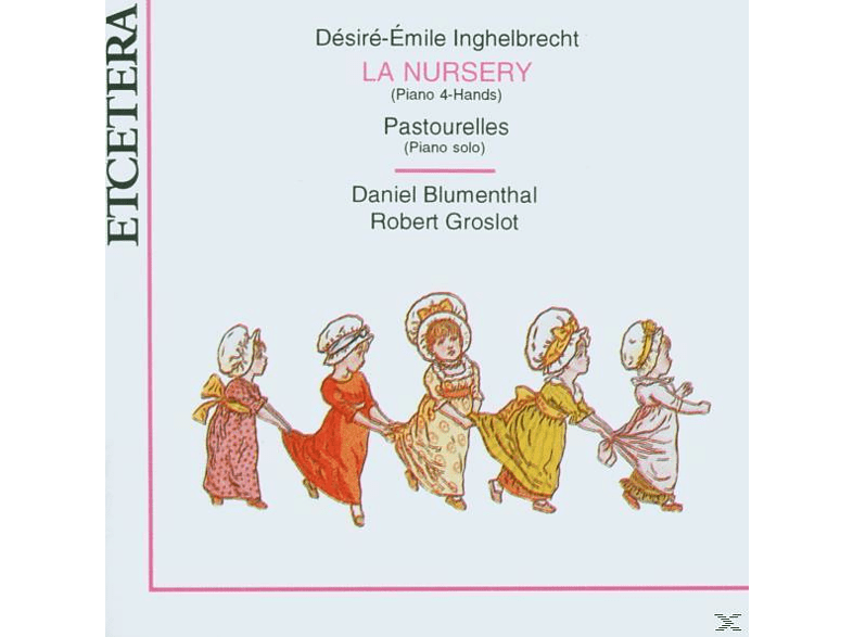 R. Groslot, Daniel Blumenthal - Music For 2 And 4 Hands [CD]