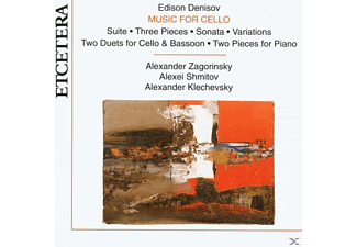 Zagorinsky, Shmitov, Klechevsky - Music For Cello - (CD)