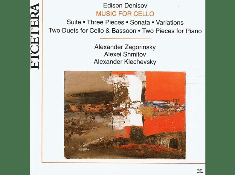 Zagorinsky, Shmitov, Klechevsky - Music For Cello [CD]