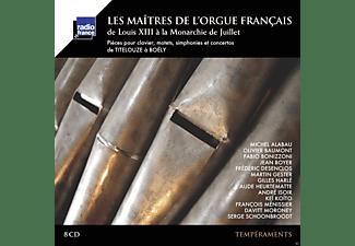 VARIOUS, Various Ensembles - Maitres De L'Orgue Francais  - (CD)
