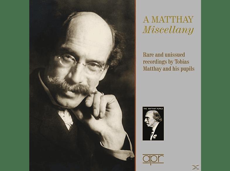 Matthay/Bartlett/Norton/Scharrer/+ - Tobias Matthay-Seltene und unveröffentlichte Auf [CD]