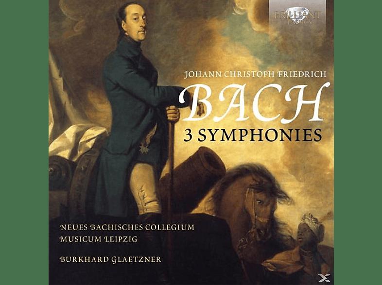 Neues Bachisches Collegium, Musicum Leipzig - 3 Sinfonien [CD]