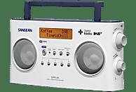 SANGEAN DPR-26 DAB+ Radio (UKW, DAB, DAB+, Weiß)
