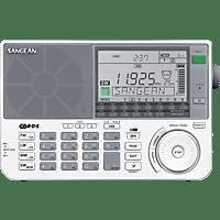 SANGEAN ATS-909X Weltempfänger (UKW, MW, LW, KW, Weiß)