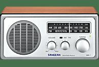 SANGEAN WR-1 Radio (UKW, FM, MW, Walnuss)