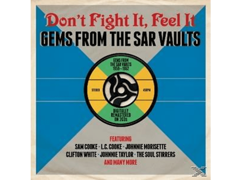 VARIOUS - Don't Fight It-Feel It [CD]