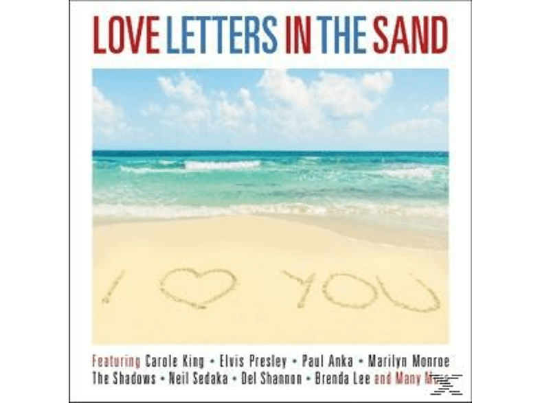 VARIOUS - Love Letters In The Sand [CD]