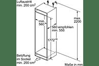 NEFF KG 736 A3 - KI6863D40 Kühlschrank (A+++, 151 kWh, 1772 mm hoch, Einbaugerät)