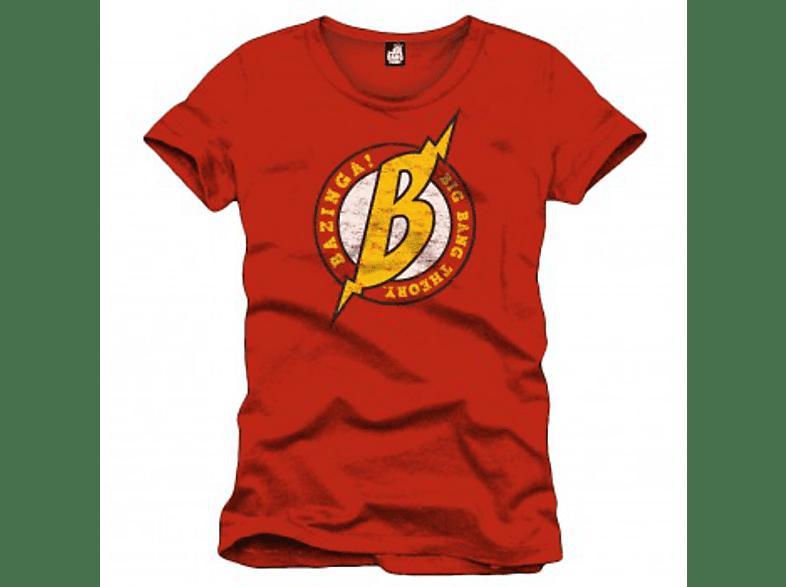 Big Bang Theory Big B T-Shirt Größe M