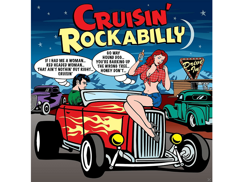 VARIOUS - Cruisin' Rockabilly [CD]