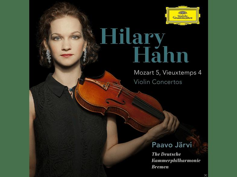 Hilary Hahn - Violinkonzerte: Mozart 5 & Vieuxtemps  4 [CD]