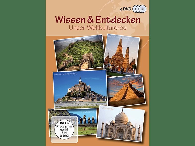 Wissen & Entdecken - Unser Weltkulturerbe [DVD]