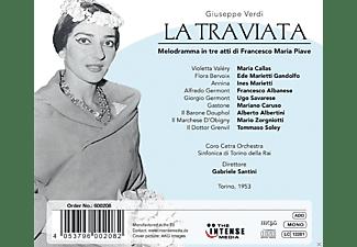 Maria Callas, Coro Cetra Orchestra, Sinfonica Di Torino Della Rai - Verdi: La Traviata  - (CD)