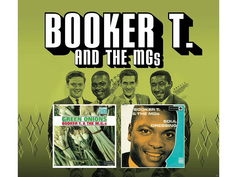 Booker T And The Mg's - Green Onions & Soul Dressing (+Bonus) [CD]