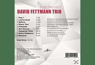 David / Trio Fettmann - The Ruby Project  - (CD)