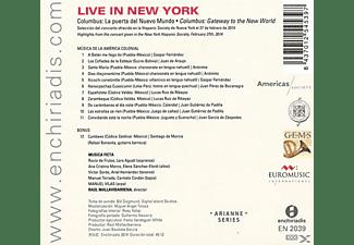 Raul Mallavibarrena;Musica Ficta;Manuel Vilas - Columbus: Gateway To The New World  - (CD)