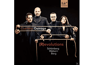 Cuarteto Quiroga - (R)evolutions  - (CD)