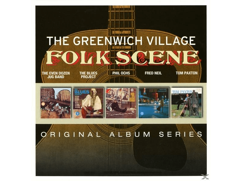 Greenwich Folk Scene - Original Album Series [CD]