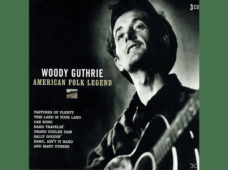 Woody Guthrie - American Folk Legend [CD]