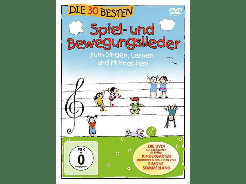 - Die 30 besten Spiel-und Bewegungslieder - Die DVD [DVD]