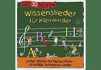 Simone Sommerland, Karsten Glück, Die Kita Frösche - Die 30 Wissenslieder Für Kleinkinder  - (CD)