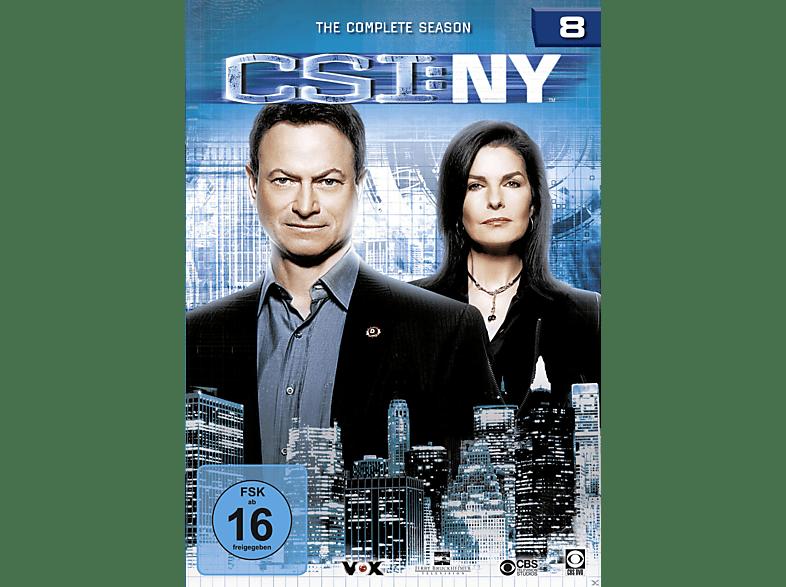 CSI: New York - Staffel 8 [DVD]