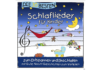 Simone Sommerland, Karsten Glück & Die Kita-frösche - Die 30 besten Schlaflieder für Kinder - zum Entspannen und Einschlafen [CD]