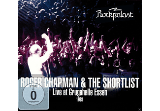 Roger & The Shortlist Chapman - Live At Grugahalle Essen 1981/Live At Rockpalast  - (CD + DVD Video)