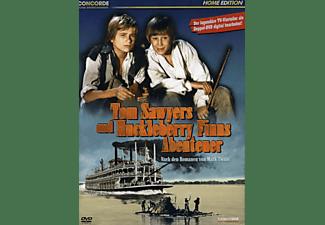 Tom Sawyers und Huckleberry Finns Abenteuer DVD