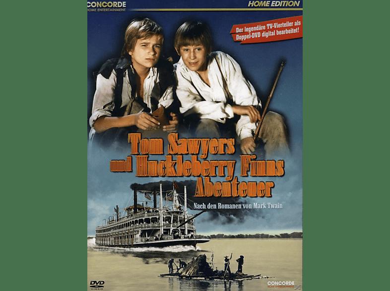 Tom Sawyers und Huckleberry Finns Abenteuer [DVD]