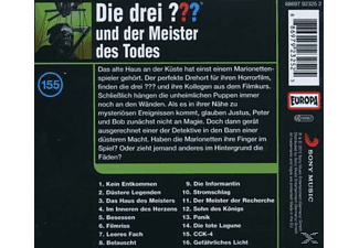 Die drei ??? 155: ...und der Meister des Todes  - (CD)