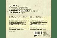 Constantin Emanuel, Ton Koopman - Constantin Emanuel Sings From Schemellis Gesangbuch [CD]