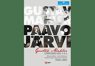 Waltraud Meier, Genia Kühmeier, Radio Symphony Orchestra Frankfurt - Mahler: Symphonies Nos. 3 & 4  - (DVD)