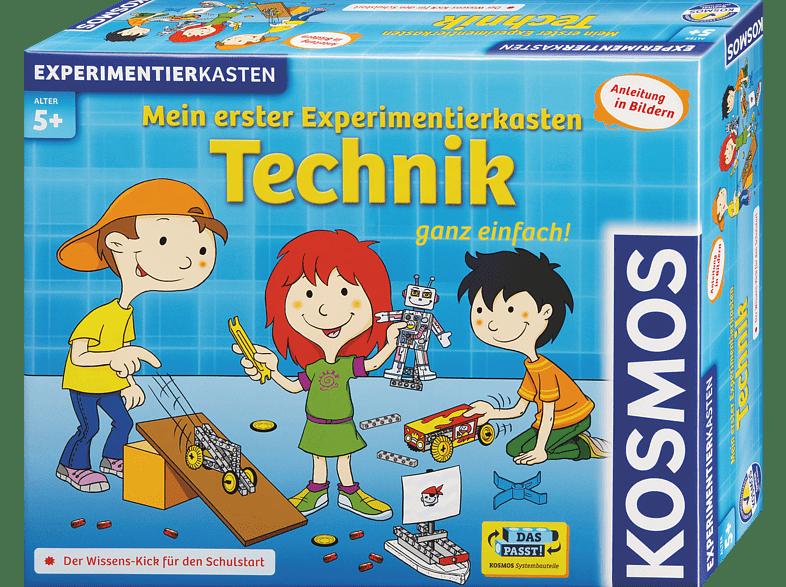 KOSMOS 602239 Mein erster Experimentierkasten: Technik, Mehrfarbig