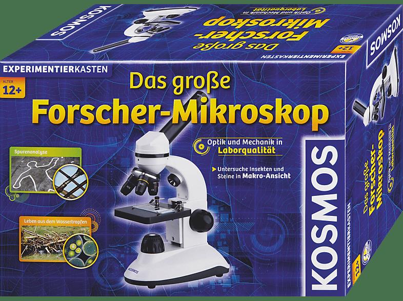 KOSMOS 636029 Das grosse Forscher-Mikroskop, Weiß