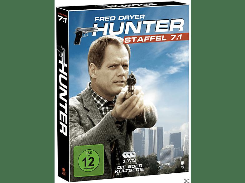 Hunter - Gnadenlose Jagd - Staffel 7.1 [DVD]