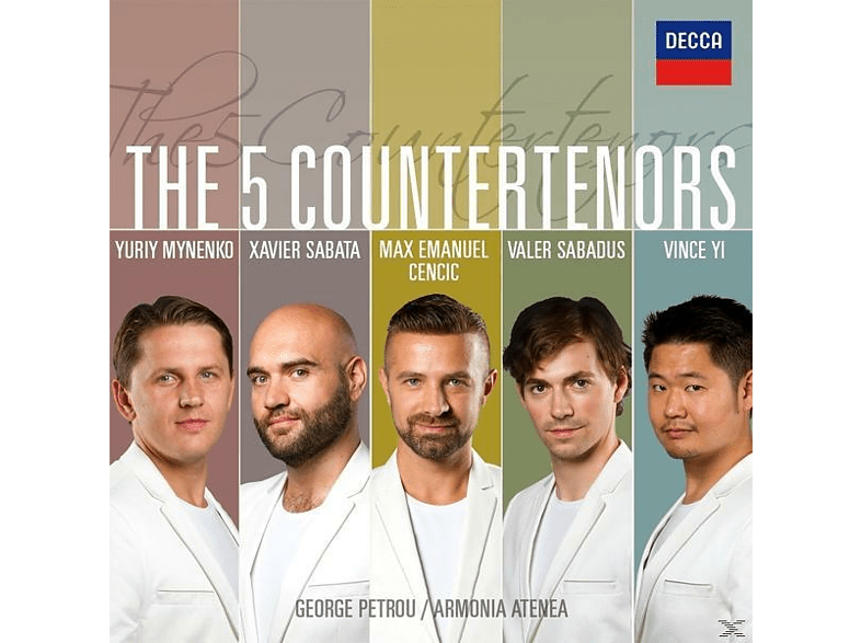 Max Cencic - The 5 Countertenors [CD]