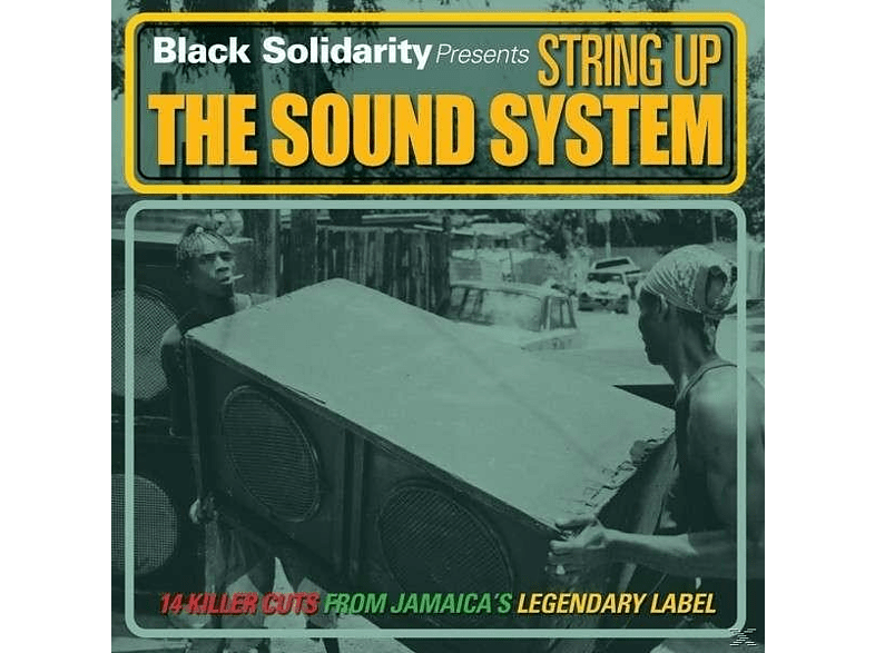 VARIOUS - Black Solidarity:String Up The Sound System [CD]