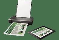 CANON PIXMA iP110 mit Akku Tintenstrahldruck mit FINE Druckköpfen Mobiler Tintenstrahldrucker WLAN