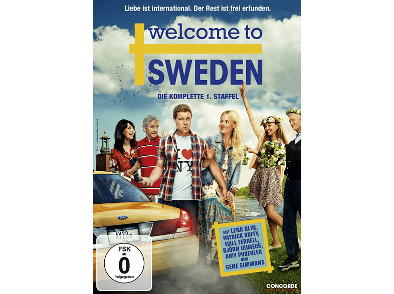 Welcome to Sweden - Die komplette 1. Staffel [DVD]