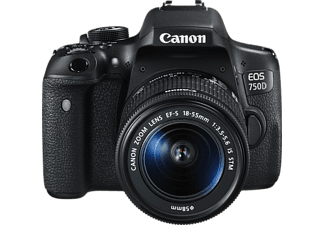 CANON EOS 750D +  EF-S 18-55mm f/3,5-5,6 IS STM