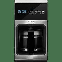 CASO 1850 Coffee 1ne Kaffeemaschine Edelstahl/Schwarz