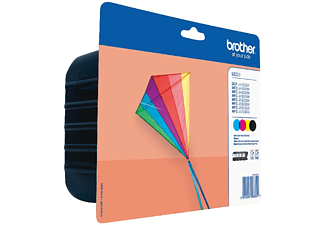 Cartucho de Tinta - BROTHER LC223VALBP PACK 4 COLORES