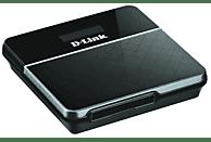 Router móvil - D-Link DWR-932, Wi-Fi 4G/LTE, 150 Mbps, color negro