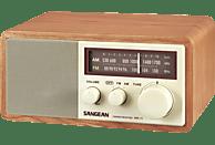 SANGEAN WR-11 Radio (UKW, FM, MW, Walnuss)